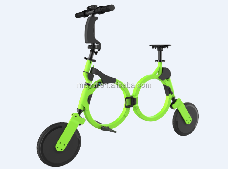 Fashion City Bike 240W Brushless Adult Electric Scooter 2 Wheels Electric Motorcycle