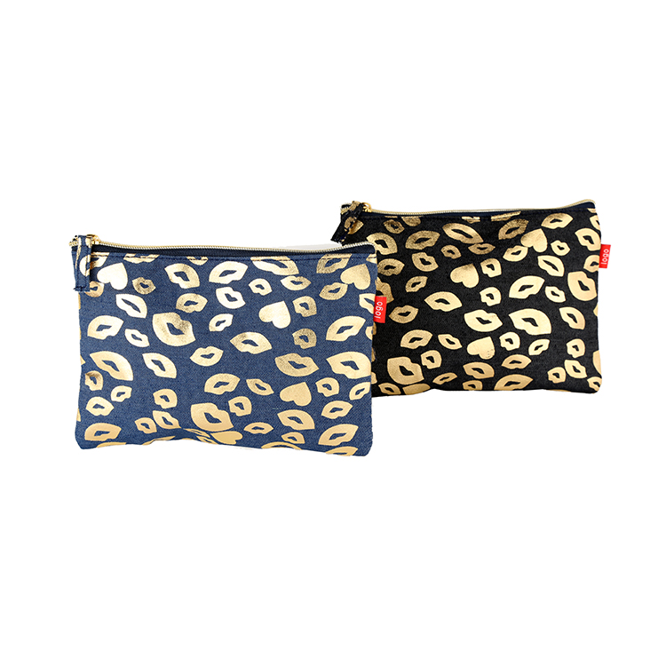 Modern glitter make up travel bag pvc zipper bag travel zipper pouch