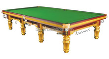 12ft Solid wood snooker billiard table for club use BLP0903
