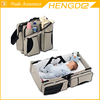 2016 new design wholesale baby diaper bag, outdoor stroller travel mommy bag