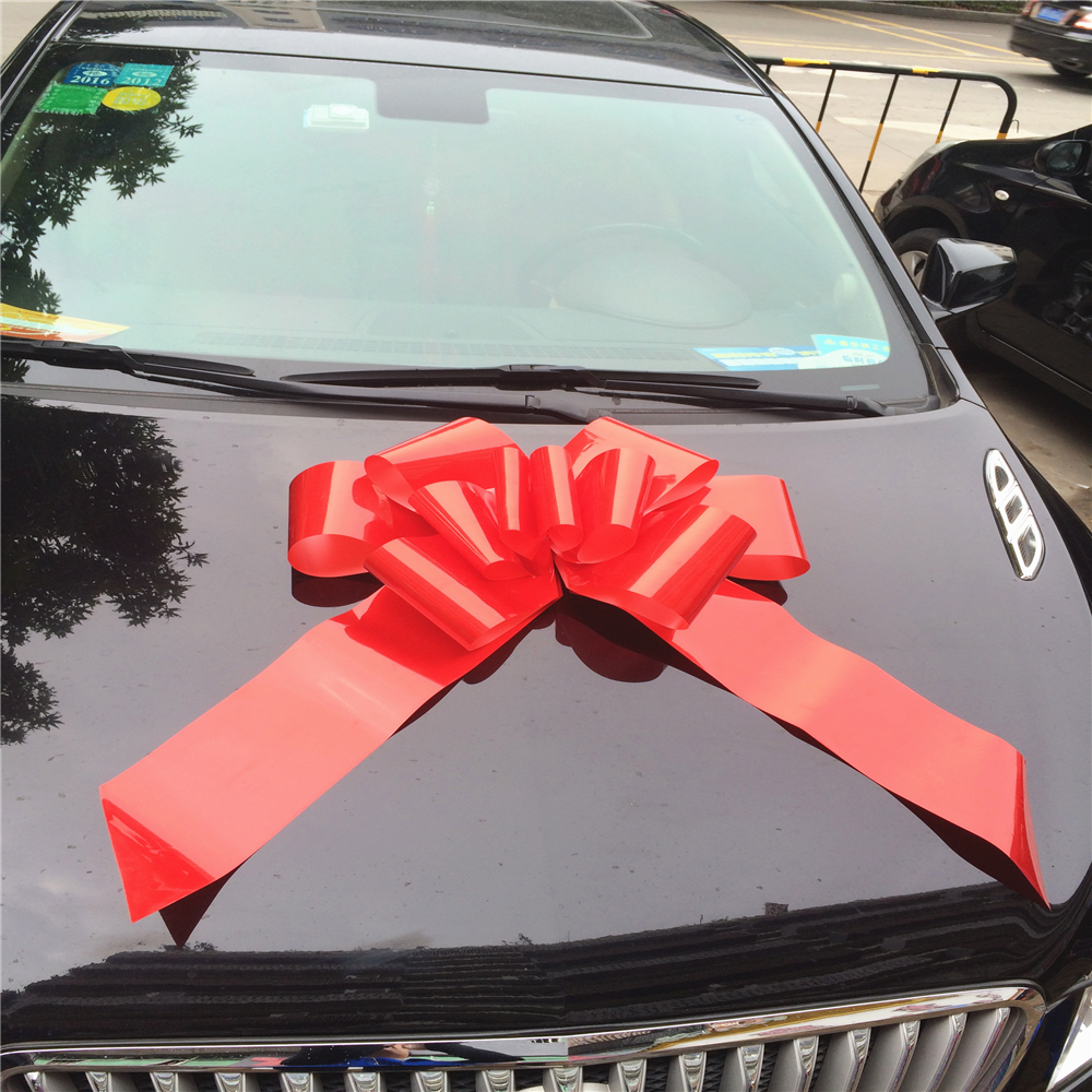 Outdoor christmas decorations plastic giant Car Bow