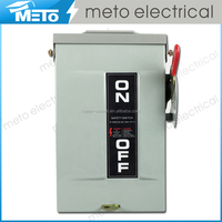 METO MTS1-30T-O type 30a safety switches/electrical galvanized steel sheet heavy duty switch