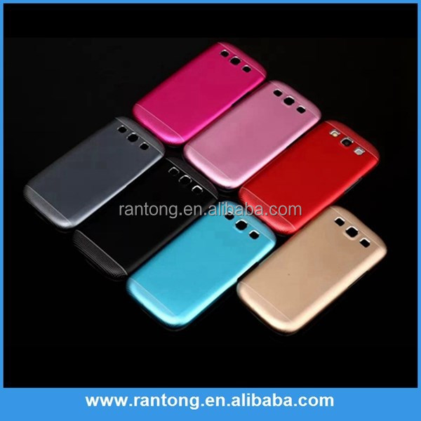 Hot selling on alibaba aluminum +pc cover case for samsung s3 i9300