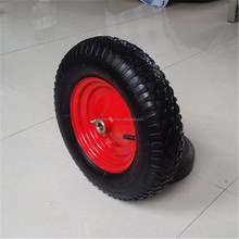 16inch 4.80/4.00-8 rubber pneumatic wheels for wheelbarrow