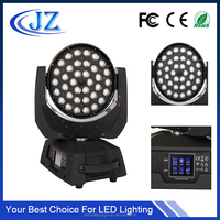 rgbw zoom 36x10w 4in1 led moving head light wash zoom lighting