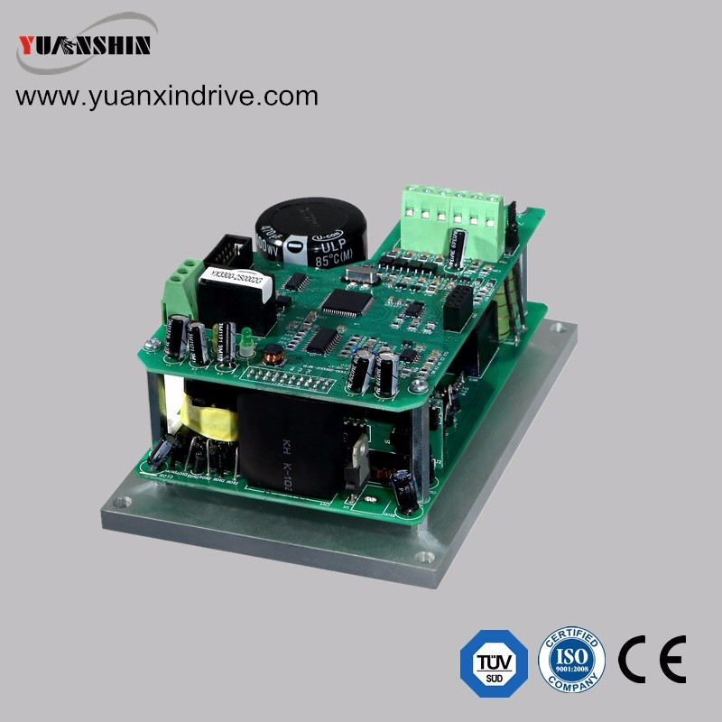 Single board frequency inverter 0.2-2.23kw for CNC spindle motor