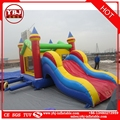 2017 new style 0.55mmPVC bounce house,inflatable castle, / inflatable bouncer with slide
