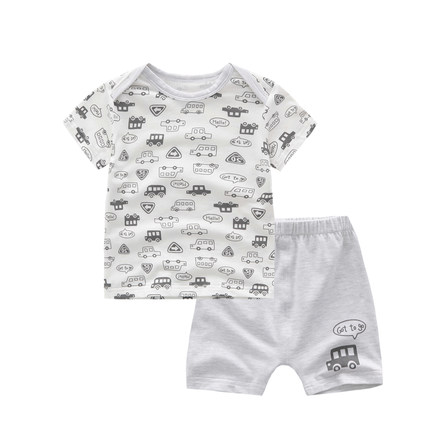 100% cotton newborn baby clothes summer clothing child wear for sale