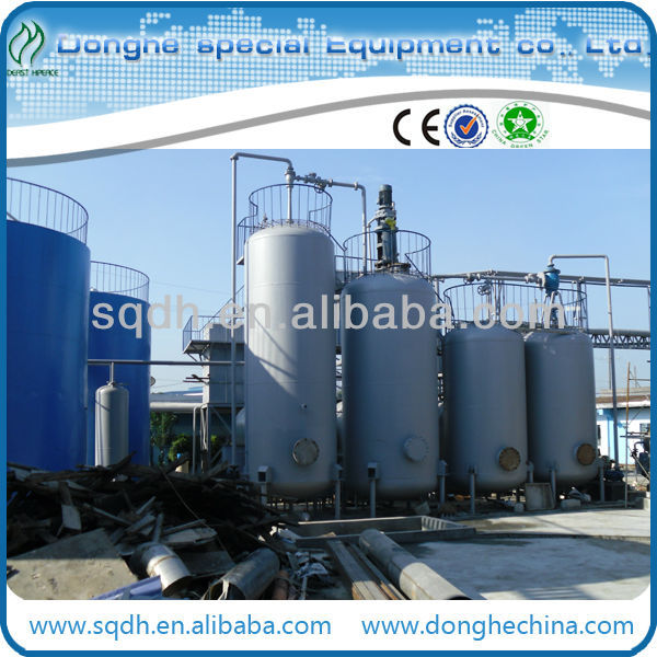 Waste/Used Engine Oil Distillation Equipment waste oil distillation