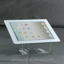 PMMA material acrylic display for ipad stand holder