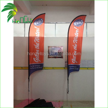 Custom Printing Advertising Beach Flag/Feather Flag