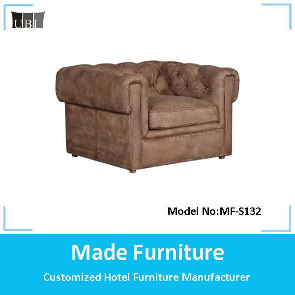 American style living room solid wood cheap chesterfield upholstery modern leather sofa set furniture