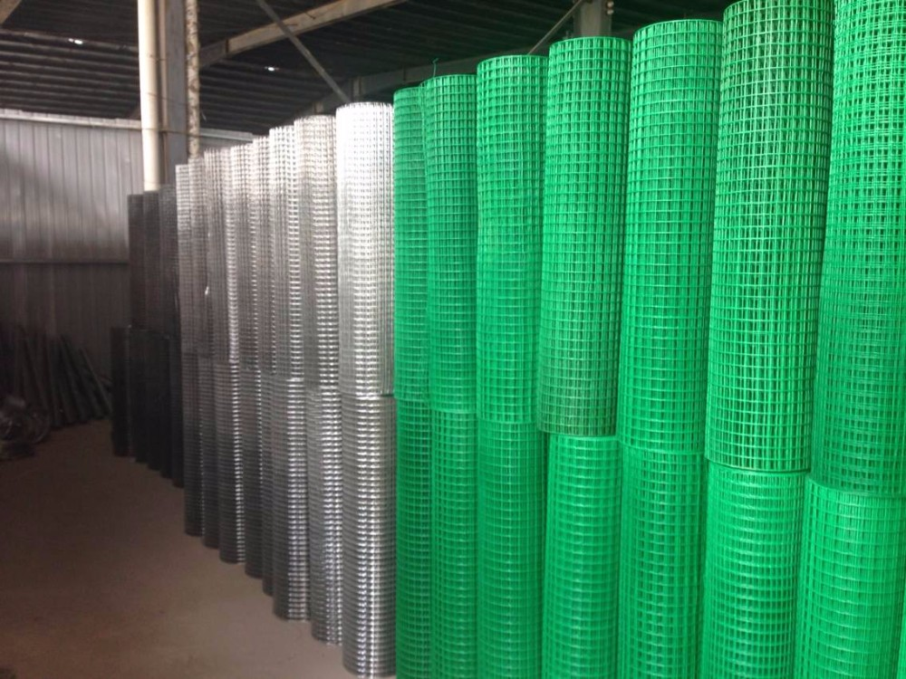 Factory Direct Sale Reinforcing Galvanised Welded Wire Mesh Roll
