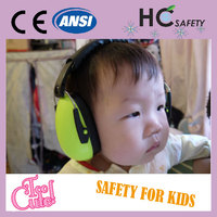 WHC706 Ho Cheng ANSI S3.19 CE EN 352-1kids sound proof baby products ear muff 2016
