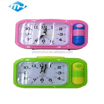 for home newest design factory price alarm plastic clock
