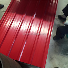 ibr metal galvanized roofing sheet / wave steel zinc profiled tiles