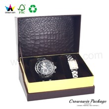 China factory Custom made cardboard luxury paper watch boxes, watch boxes packaging, watch packaging box