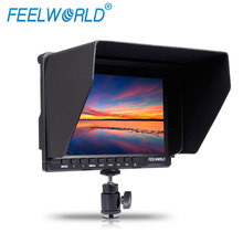 FEELWORLD best price 7inch lcd monitor with peaking red line and histogram