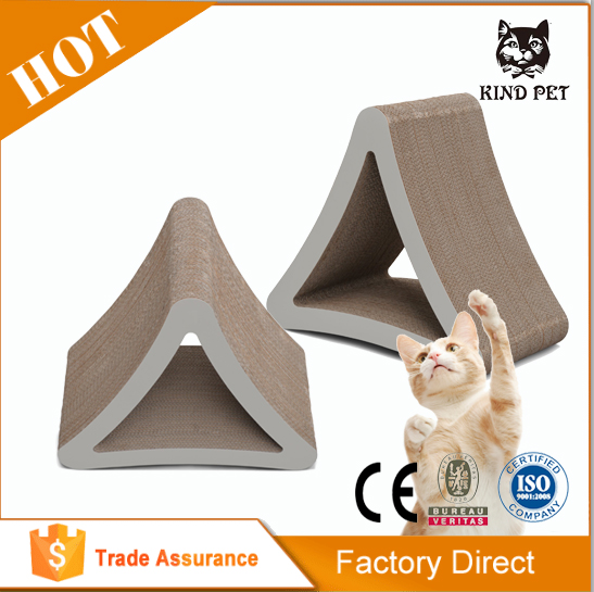 CAT KITTEN SCRATCH PLAY CORRUGATED TOY