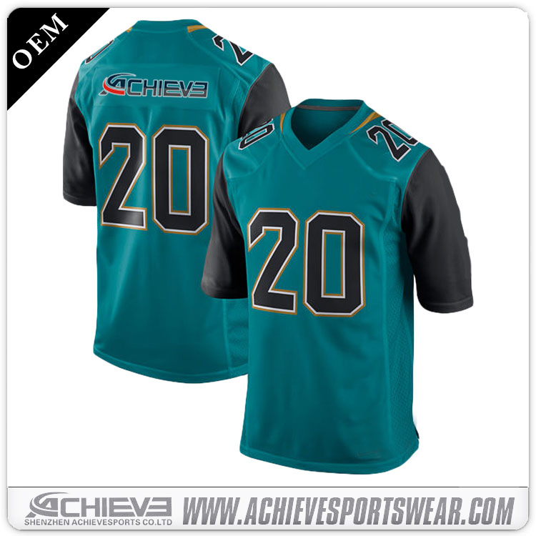 Custom american football team shirts/ american football equipment wholesale