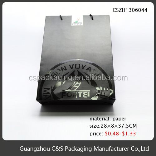 Elegant Top Quality Fashion Chinese Make Gift Bag Out Paper