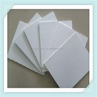 Green 2015 hot sale Factory cheap price 4x8 White pvc forex sheet/ board for bath cabinet material
