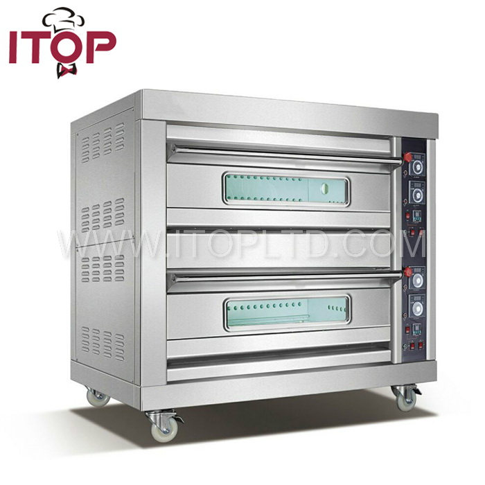 Hot SALE Commercial bread baking ovens/bakery gas oven prices