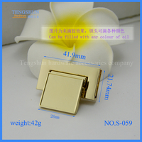 fashionable metel lock for purse free samples hight quanlity accessories for handbag wholesale