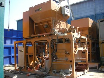 USED KOKEN AUTOMATIC MORTAR MIXING& BATCHING PLANT