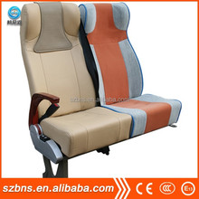 Business PU bus passenger seat/leather seat cover for sale