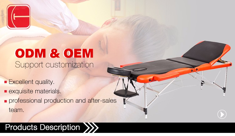 AL Portable Foldable Chinese Manipulative Facial Massaging Bed