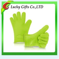 Hot Products FDA Grade Heat Resistant Silicone BBQ Gloves Set
