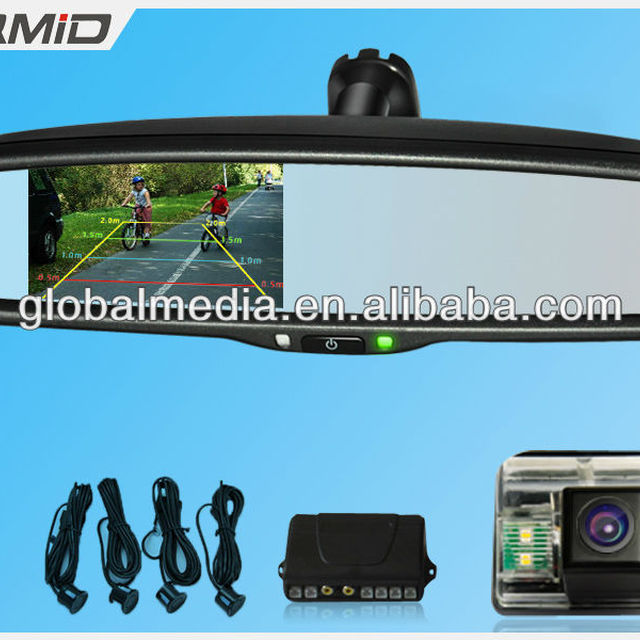3.5inch car rearview mirror monitor