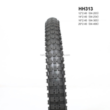 solid rubber bicycle tire size 16x1.95