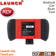 Launch new product crp touch pro for electronic parking brake & steering angle & oil lights &DPF & TPMS runs on Android