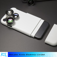 Mobile phone Case Camera Lens Kit Fisheye or Macro or Wide Angle or Telephoto Lens For iPhone 7