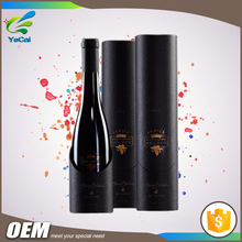 CARTON BOX PAPER PACKAGING BOX FOR WINE, BOTTLE PAPER TUBE MADE IN CHINA
