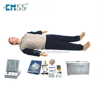 Medical training manikin and first aid type human simulation CPR dummy / CPR manikin for medical training
