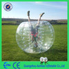 Transparent stress ball juggling ball PVC/ TPU bubble bumper soccer ball football ball