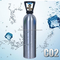 TPED DOT Soda CO2 Aluminum Gas Cylinder