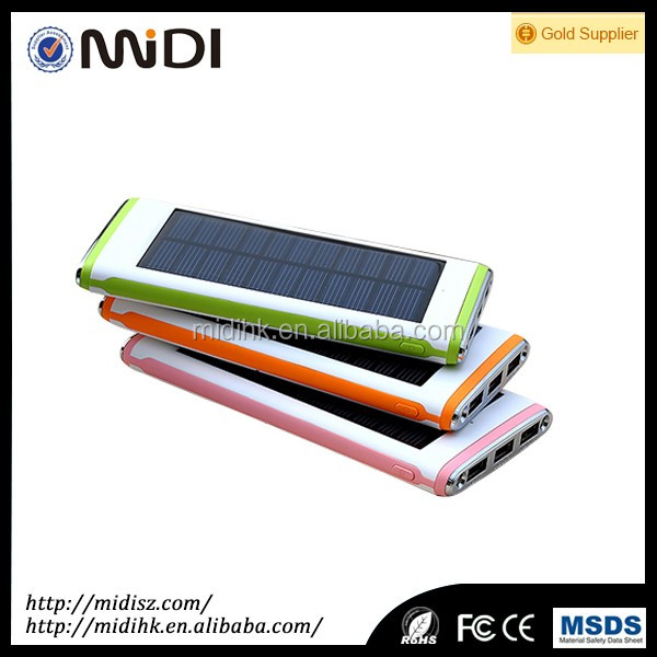 gift solar power bank case for Samsung galaxy s4 led light support logo paint FC CE RoHS Certification