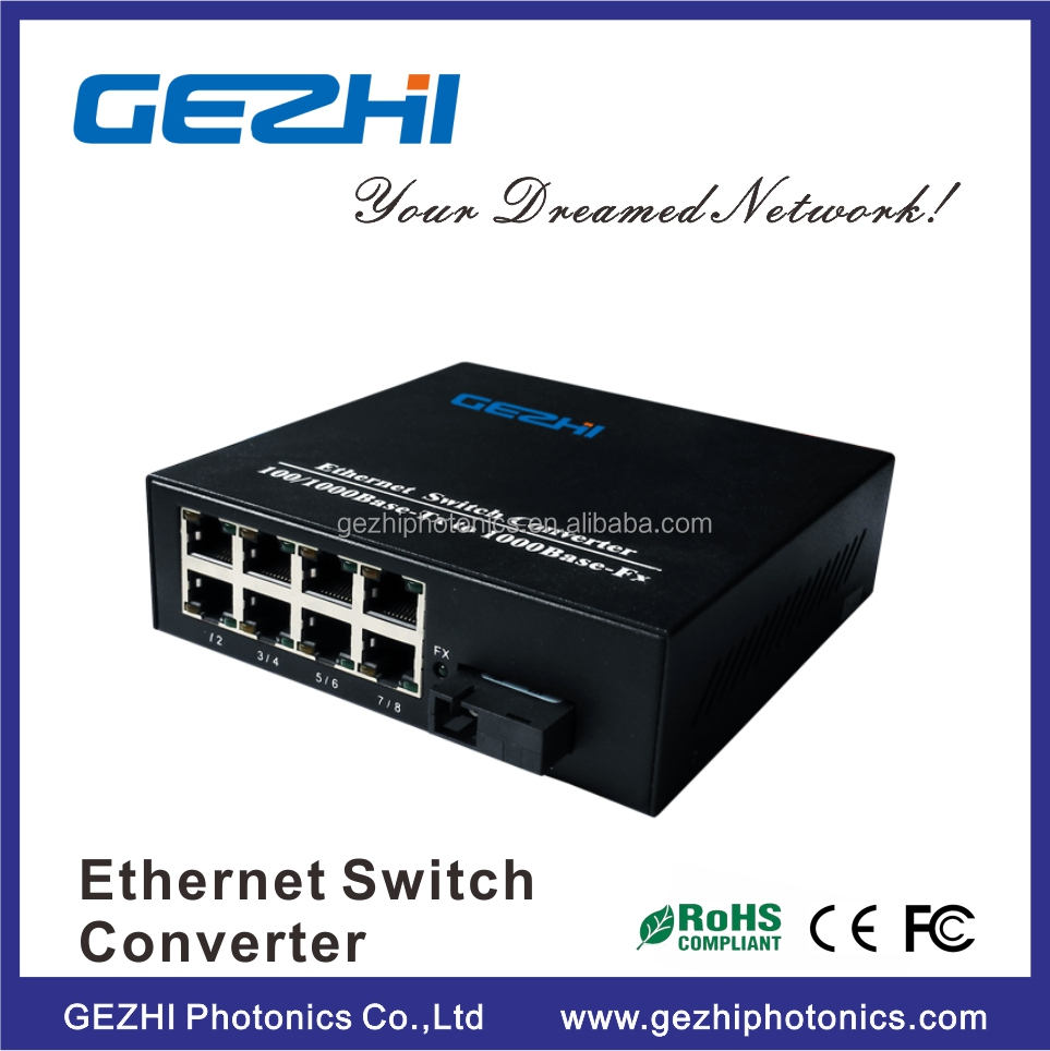 8 Port Gigabit Rackmount poe switch 10/100/1000 Mbps