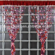 pomppon string curtain