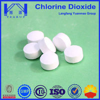 Food Grade Chlorine Dioxide Tablet Used in Aqua Water Treatment