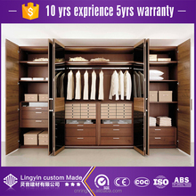 classic home furniture disassemble cabinet storage clothes wardrobe wooden closet