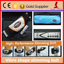 Vibro heated fat burning electric vibrating slimming massage belt