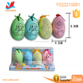 Children toys diy painted plastic egg for decoration, Wonderful watercolour painted PE egg