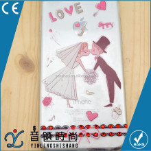 best selling phone accessories cheap custom tpu cases diamond for lovers couple, coloured drawing or pattern for iphone6/6s