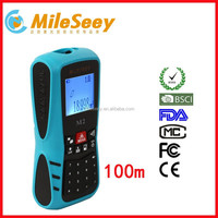 Shenzhen factory Mileseey M2 100m volume measuring equipment usb laser distance meter