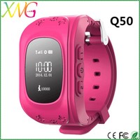Wholesale big promotion silicone material gps smart watch q50 with sos,pedometer for pets